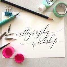 Anne Robin Calligraphy workshops
