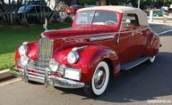 1942 Packard Super Eight 160 Convertible Victoria