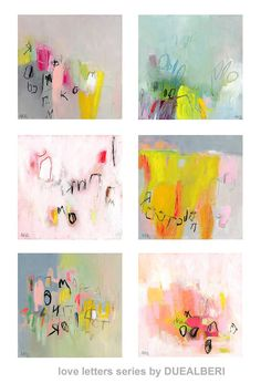 Abstract Painting. Original painting. Modern painting by DUEALBERI