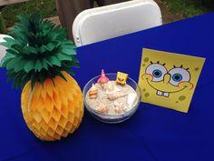 Spongebob centerpiece #spongebob party