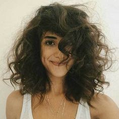 It is a very good idea to cut short hair for curly hair. They look very modern too. Let's take a look at these excellent cute short curly hair styles, and. Curly Hair Styles, Thick Curly Hair, Wavy Hair, Medium Hair Styles, Her Hair, Natural Hair Styles, Curly Short, Messy Hairstyles, Hair Looks