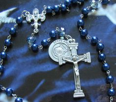 Police Serve and Protect Rosary, St Michael by #TripleTwisting on Etsy