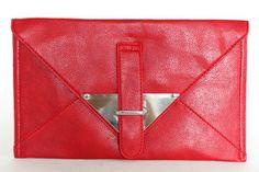 MADISON Large Envelope Clutch Bag