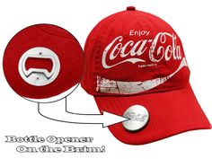 "Coca Cola ""Classic"" Bottle Opener Hat"