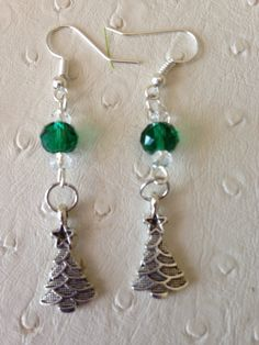 A personal favorite from my Etsy shop https://www.etsy.com/ca/listing/478828697/christmas-tree-earrings-tibetan-silver
