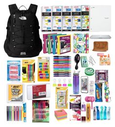 Designer Clothes, Shoes & Bags for Women Middle School Supplies, School Kit, Kids Lunch For School, College School, School Daze, School Backpack Organization, Back To School Checklist, What's In My Backpack, Fancy Bedroom