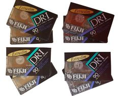 8-Pack Fuji All Purpose Cassette Tapes Normal Bias EIC 1 DR-I 90 Min.  #Fuji