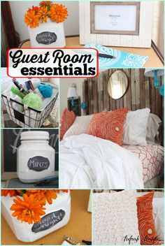 Guest Room Essentials Free Printable #spon #bhglivebetter - Refresh Restyle