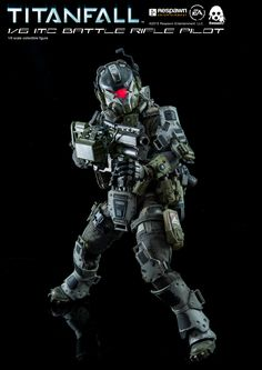 Fully posable 1/6th scale Titanfall IMC Battle Riffle Pilot collectible is available for pre-order at threezerostore.com starting from June 15th 9:00AM Hong Kong time for 190USD/1480HKD with worldwide shipping included. Threezerostore Exclusive version is coming with Sidewinder weapon (and four pairs of interchangeable hands) in addition to R101, Smart Pistol and Data Knife. Full info: https://www.facebook.com/media/set/?set=a.1158827950809698.1073741928.697 #threezero #Titanfall #ReSpawn…