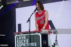 MANCHESTER, TN - JUNE 09: Paul Klein of LANY performs at the... #lany: MANCHESTER, TN - JUNE 09: Paul Klein of LANY performs at the… #lany