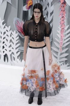 Chanel Haute Couture, Spring 2015 Haute Couture (hi Kendall and nipples!)