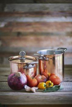 Pure, authentic American copper cookware made by a woman in the USA!