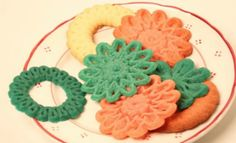 Cookies made with a 3 D printer. Amazing!