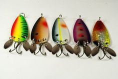 This lure is custom designed for Northern Pike, Walleye, Large Trout, Largemouth Bass, and Salmon