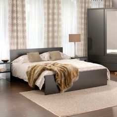 At JYSK, our selection includes metal bed frames, wooden bed frames and gorgeous, fully upholstered frames, to suit any interior from period to contemporary. Wooden Bed Frames, Modern Bedroom Furniture, Metal Beds, Contemporary, Interior, Home Decor, Wood Beds, Indoor, Homemade Home Decor