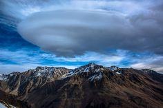Dmitry Demin Una nuvola sul Caucaso, Monte Cheget