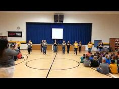 ***Must Watch!!!!***Don't Stop Believing Flash mob--Lawson teachers pump up students to take the MAP!