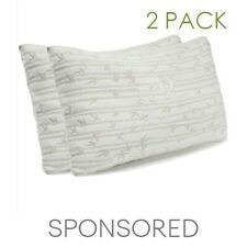 Memory Foam Luxurious Bamboo Pillow By Clara Clark King Queen Available Discount 86 Memory Foam