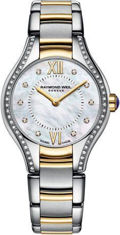 fe5c78a6c7f Raymond Weil Watch Noemia Ladies  bezel-diamond  bracelet-strap-gold…