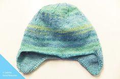 Knit Baby Hat - Free Pattern + Knitting Pattern - A Babymütze stricken – kostenlose Anleitung + Strickmuster – Agli Baby hat knitting – free pattern + knitting pattern – cap - Baby Knitting Patterns, Knitting Terms, Baby Hats Knitting, Free Knitting, Knitted Hats, Crochet Patterns, Start Knitting, Hat Patterns, Amigurumi Patterns