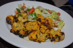"""Afghani chicken kebab is a delicious dish straight from the line of Mughals. Mildly spiced, this is an easy chicken recipe that is low on time and effort required. Perhaps that's why it is a favourite Ramadan recipe as well. This chicken recipe comes straight from my mother's kitchen. Try it out and let us know how it went! [caption id=""""attachme"""
