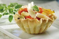 Ταρτάκια με ψητά λαχανικά και νιφάδες παρμεζάνας-featured_image