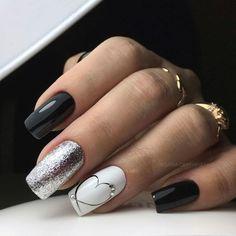 Heart Nail Designs, Valentine's Day Nail Designs, Shellac Nail Designs, Pink Gel, Pink Nails, Red Nail, Hair And Nails, My Nails, Popular Nail Designs