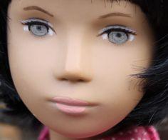 Doll Eyes, Doll Face, Sasha Doll, Doll Repaint, Bad Hair, Doll Outfits, Doll Clothes, English, Doll Stuff
