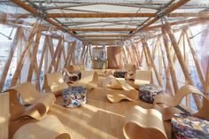 Bamboo Crafts, Eco Green, Eco Architecture, Floating House, Fibre, Home Projects, Innovation, German, Chinese