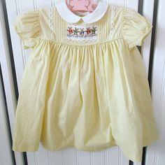 vintage baby kate greenaway dress