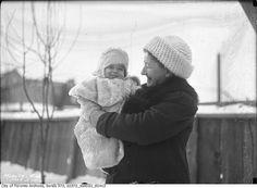 Baby Donald Brown, 57 Millicent Street, Toronto, March 3, 1916. #Edwardian #children #1910s #Canada