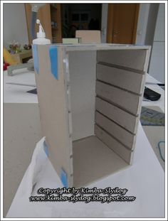 Workshop Stempelkissen-Turm für 24 Stampin Up - Stempelkissen | Kimba-Slydog's Creativ-Blog