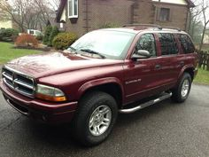 2001 Dodge Durango, except mine was a golden/silver. LOVE this SUV. Sold it because the gas mileage sucked at 12.8 mph. Definately wouldn't  mind another.