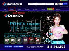 DominoQiu.org adalah sebuah agen poker yang menyediakan 6 permainan kartu online dalam 1 website. Poker, Domino, Capsa, Ceme, Ceme Keliling dan Live Poker bisa dimainkan dengan 1 ID saja.