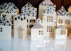 CeramicHouses by Famille Summerbelle
