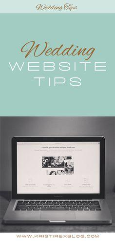 Wedding Website Tips - Kristi Rex Photography