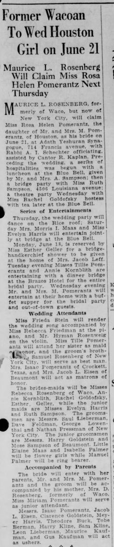 The Waco News-Tribune  (Waco TX) 17 June 1928 pg 17