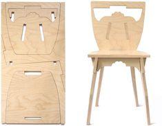 Made of one plank de PANO chair by Studio Lo   Gemaakt van één plank de PANO stoel bij Studio Lo.