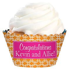 Link Design Personalized Cupcake Wrappers