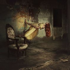 Roaming walls on quiet mornings by Brooke Shaden