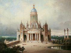 Karl Friedrich Schinkel, Architekturphantasie.