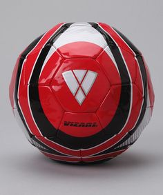 Red Spectra Soccer Ball from Vizari