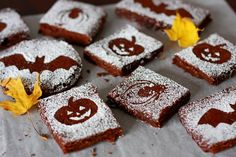 Brownies Horroríficos para Halloween.