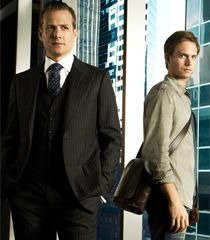 Mike Ross & Harvey Specter in Suits.
