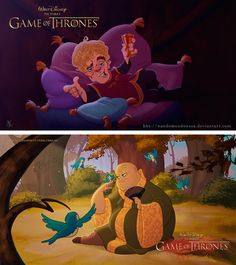 Game of Thrones characters reimagined as Disney characters - Imgur