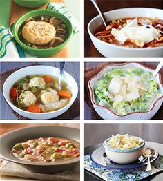 20 Awesomely EZ Soups these are some of the soups you can make in less than 10 min