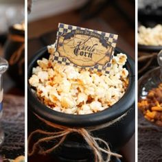 Halloween : Partie 3 – Décoration (1) pop corn