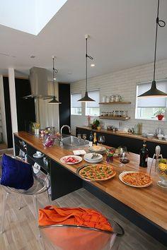 Kitchen Dinning, Cozy Kitchen, Kitchen Decor, Kitchen Design, Dining, My House Plans, Kitchen Interior, Home Kitchens, Sweet Home