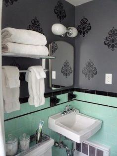 traditional bathroom vintage bathroom