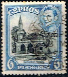 Cyprus 1938 SG 158 Bayrakdar Mosque Fine Used SG 158 Scott 150 Other European Stamps HERE